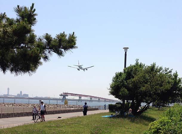 ブーっとどっか行ってくんね – 城南島海浜公園